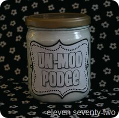 Do it yourself homemade mod podge homemade craft and crafty plain white school glue water homemade mod podge or as i call it un mod podge solutioingenieria Images