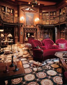 The Study Set from the Haunted Mansion. I loathe and despise this movie but LOVE this set!
