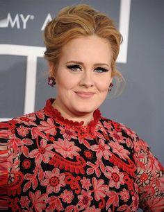 Loving Adele's huge falsies!