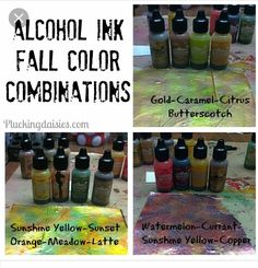fall color combos