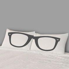 Glasses Pillowcase Set