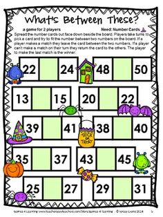 Halloween Math Games First Grade by Games 4 Learning for bringing some Halloween fun into the classroom. $