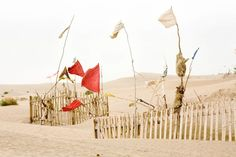 Xinjiang flags Photo: Lisa Ross, 2007