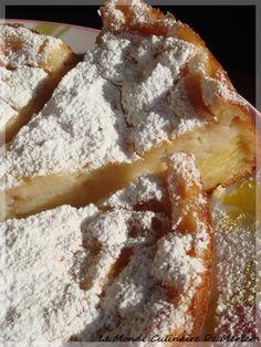 Gateau invisible aux pommes et poires - Le monde culinaire de Meriem
