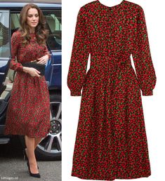 hrhduchesskate: The Mix Volunteer Christmas Party, December Duchess of Cambridge debut. Looks Kate Middleton, Estilo Kate Middleton, Kate Wedding Dress, Kate Dress, William Kate Wedding, Herzogin Von Cambridge, Princesa Kate, Jacquard Dress, Elegant Outfit