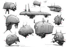 Urban Concept, Concept Art, Ship Sketch, Mortal Engines, Koi Art, Visual Development, Dieselpunk, Art Techniques, Futuristic