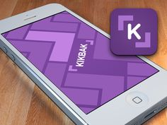 Kikbak Design Explorations: Splash Screen & App Icon