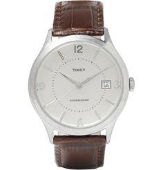 Timex x J.Crew - Timex 1600 Stainless Steel Watch|MR PORTER