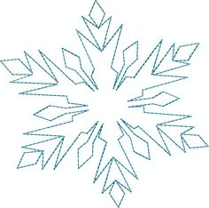Paper Snowflake Template, Paper Snowflakes, Frozen Party, Frozen Birthday, 2nd Birthday, Cumple De Frozen Ideas, Machine Quilting, Machine Embroidery, Frozen Snowflake