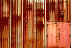 Romantically Rusted Screens