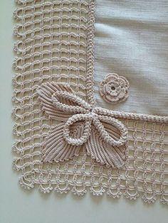 How To Make Stylish Poncho - Crochet İco - Diy Crafts Crochet Towel, Crochet Poncho, Filet Crochet, Lace Knitting, Irish Crochet, Crochet Borders, Crochet Stitches Patterns, Crochet Motif, Diy Crochet