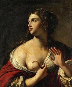 Cleopatra, Artemisia Gentileschi, Noli Me Tangere, Baroque Painting, Painting Art, Italian Painters, Italian Art, Italian Baroque, John The Baptist