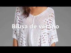 Blusa Crochet para Todos los Talles / Tutorial | Crochet y Dos agujas - Patrones de tejido