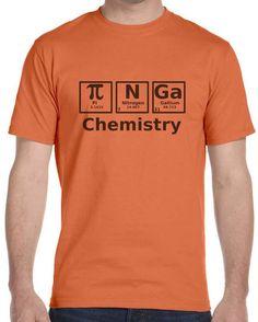 Chemistry T- Shirt Tee Custom Fit FREE SHIPPING SIZE S M L XL #Gildan #PersonalizedTee