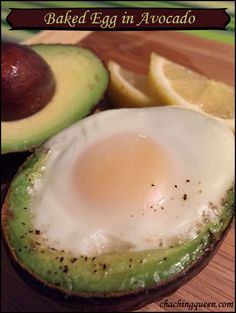 Baked Egg in Avocado Recipe – gluten-free and Paleo healhy breakfast