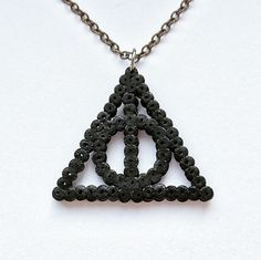Harry Potter Inspired Deathly Hallows Hama by GeekGirlWorkshop