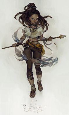 huntress by loish on DeviantArt