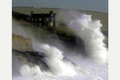 Lamorna Cove, near Penzance, Cornwall, England Penzance Cornwall, Castles To Visit, Cornwall England, Rock Pools, Big Waves, Winter Travel, British Isles, Great Britain, Day Trips