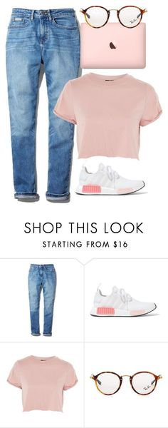 """Untitled #804"" by victoriaam99 on Polyvore featuring Calvin Klein, adidas Originals, Topshop and Ray-Ban"