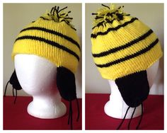 Hufflepuff Hat  Now available on Etsy:  https://www.etsy.com/listing/550999929/hogwarts-house-hats