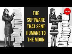 NASA's first software engineer: Margaret Hamilton - Matt Porter & Margaret Hamilton - YouTube Teach Yourself Code, Margaret Hamilton, Agile Software Development, Apollo 11 Moon Landing, Cc Cycle 3, Apollo 11 Mission, Engineer Shirt, Mission Control, Corona