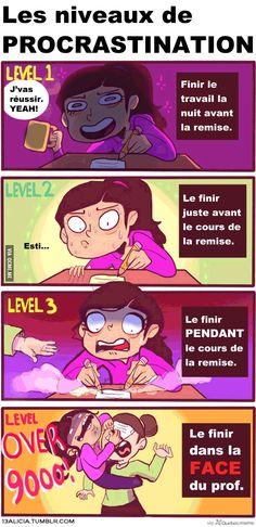 Procrastination – Québec Meme +