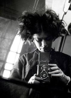 Eva Besnyö -  Self-Portrait, 1932  (1910 - 2003)