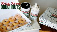 Krispy Kreme Doughnuts & Coffee Tutorial : How To Make Miniature Polymer Clay Dessert