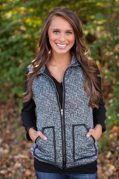 The Pink Lily Boutique - Designer Inspired Herringbone Vest CLEARANCE!!! , $45.00 (http://thepinklilyboutique.com/designer-inspired-herringbone-vest-clearance/)