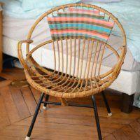 Customiser des meubles et objets en rotin - Marie Claire Idées