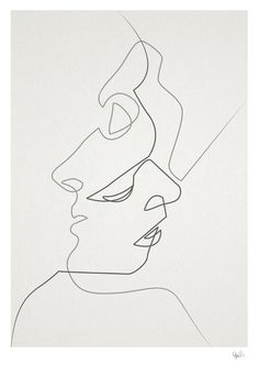 how to draw one line drawing - Поиск в Google
