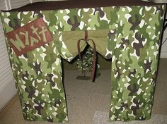 my mom had a card table fort like this when I was growing up wish I could sew so I could make this!!!