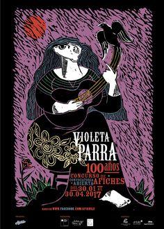 Afiche concurso Afichile - Por Julián Naranjo