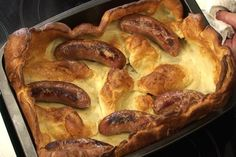 Not Just For Sunday: 5 Great Ways to Serve Yorkshire Puddings: Toad in the Hole Recipe