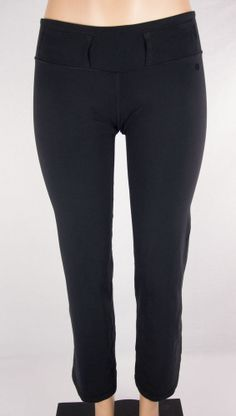 LULULEMON Belt It Out Pants Sz S Black #Lululemon #PantsTightsLeggings