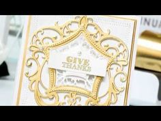 Video Tutorial: Give Thanks Card - YouTube