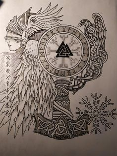 When you find and also create a great Viking Viking Tattoo Sleeve, Viking Tattoo Symbol, Norse Tattoo, Viking Tattoo Design, Celtic Tattoos, Viking Tattoos, Sleeve Tattoos, Wiccan Tattoos, Inca Tattoo