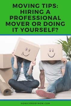 Moving is a pain in the butt especially if it is far. Here are some moving tips to help you decide between a professional mover or DIYing it. Moving Tips, Moving Out, Professional Movers, Make Money From Home, Mom Blogs, Blog Tips, Parenting Advice, Activities For Kids, Paradise