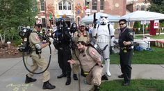 Troopers and Busters at the 2014 Dover Mini-Maker Faire. #GB30