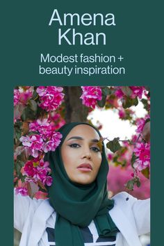 Interested in modest fashion, hijab styling and beauty? Follow Amena for more inspiration.
