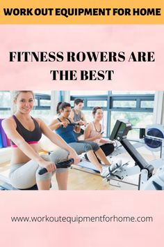 For a complete workout of the body fitness rowers are the best. They exercise the entire body, much in the same that swimming does. Thus it's a great cardio vascular exercise, which helps to lose the calories as well as tone up the body. Home Workout Equipment, Tone It Up, Body Fitness, At Home Workouts, Cardio, Swimming, Wellness, Exercise, Good Things