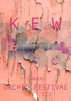 Kew Gardens, Orchids, Graphics, Abstract, Artwork, Work Of Art, Graphic Design, Summary, Lilies