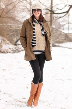 I wish it got colder here so I could wear something like this.