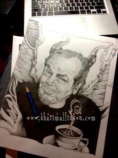 My L'il Coffee Devil  www.sharimallinson.com