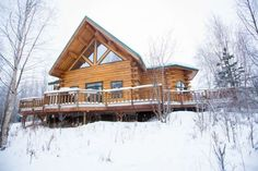 Check out this awesome listing on Airbnb: Custom estate in Alaska wilderness. - Houses for Rent in Wasilla