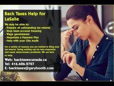 Lakeshore   Back Taxes Canada.ca   416-626-2727   taxes@garybooth.com   CRA Audit, Tax Returns