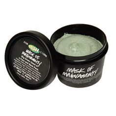 The Mask of Magnaminty from Lush is a must have for anyone with acne prone skin! It smells great pulls out impurities in a snap~my teen son even uses it!