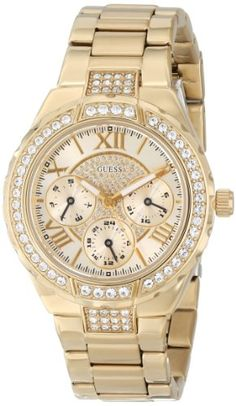 GUESS U0111L2 Gold-Tone Sparkling Watch GUESS,http://www.amazon.com/dp/B0093Q53DQ/ref=cm_sw_r_pi_dp_.aLHsb0CJ90QJQMD
