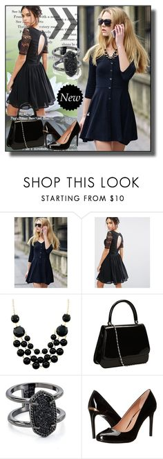 """set 47"" by fahirade ❤ liked on Polyvore featuring Amy Lynn, Kendra Scott and Calvin Klein"