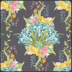 Lilly Bouquet Dark- curtains accent. love! Bari J.
